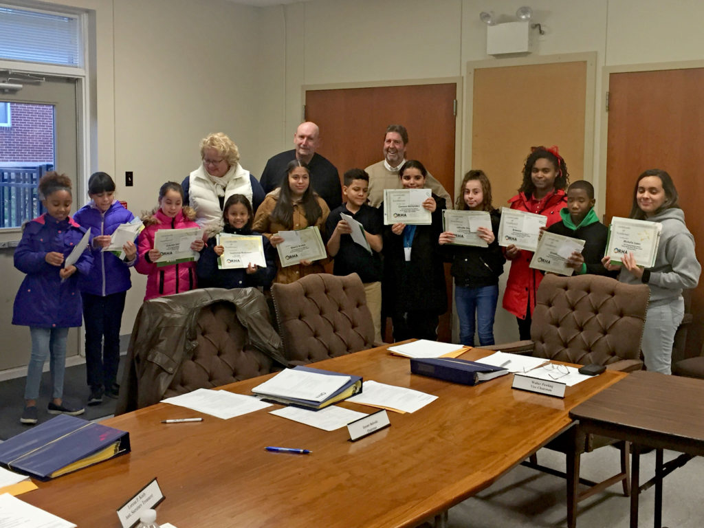 2019 Reading Housing Authority's Energy Saving Calendar Winners